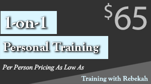 Rebekah Barnes offers 1 on 1 personal training in Sarasota, FL