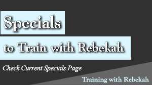 Specials for training with Rebekah Barnes, a Sarasota, FL based Personal Trainer.